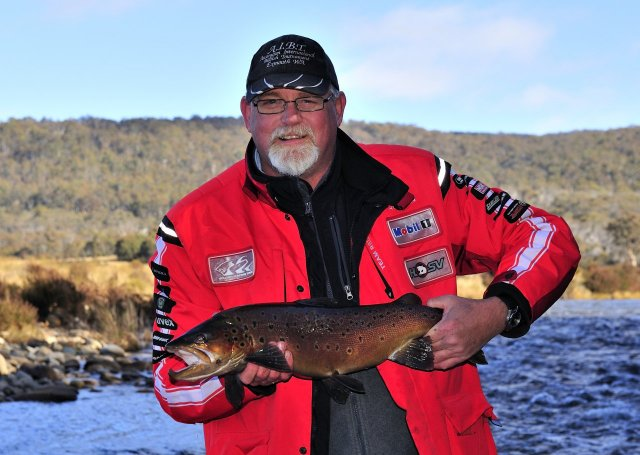 Trout fishing on the Eucumbene River in the Snowy's 2nd pic