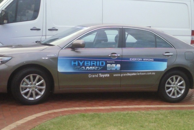 The new camry hybrid