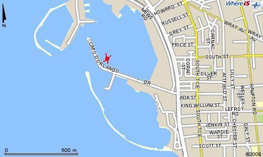 capo d'orlando drive, fremantle harbour