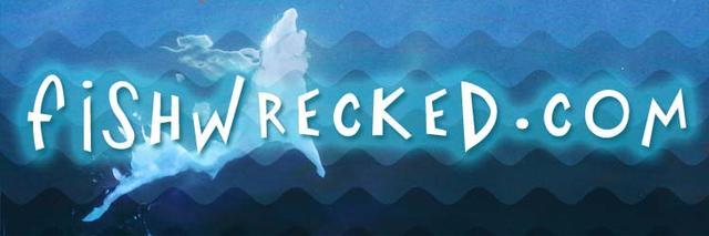Fishwrecked Tshirt Logo - Potential