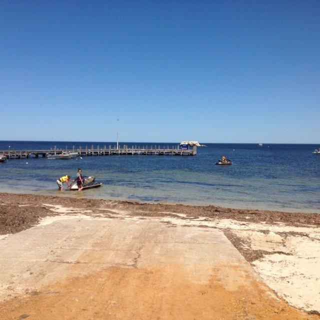 Leeman boat ramp