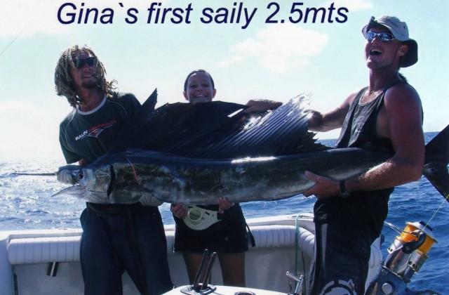 ginas first fish