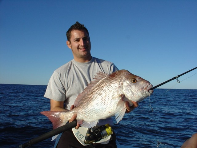 Kletch and his Pink Snapper