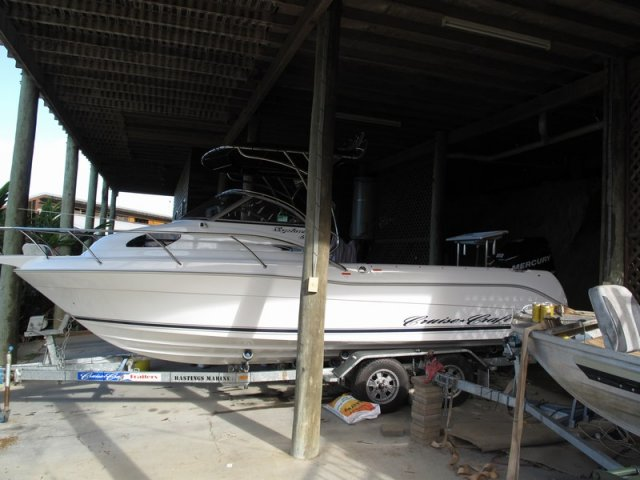 The new boat