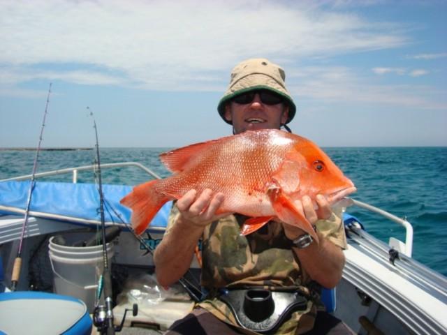 caught in 5 metres