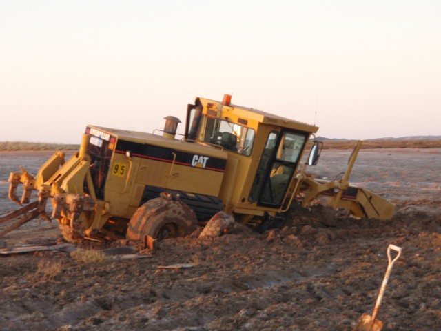 What not to do to a Brand new Grader