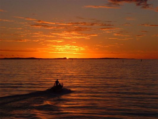 Garden Island Sunset