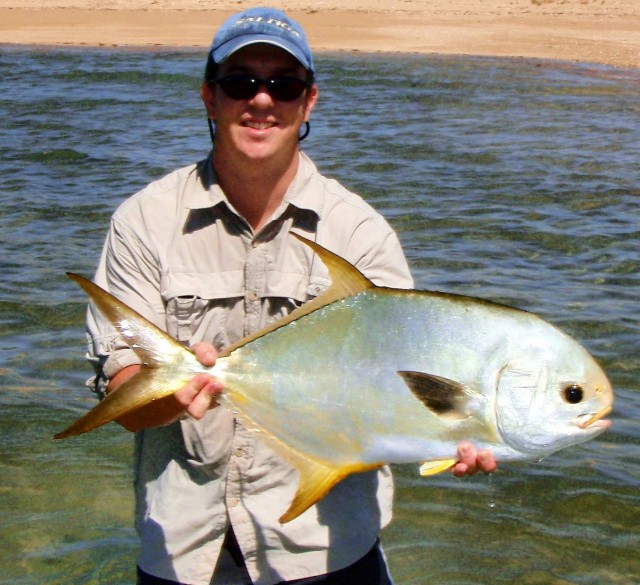 Gribbo's 10lb Permit on Fly