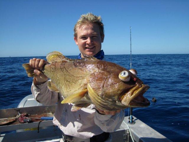 First proper deep fish fishing for Rock cod fish