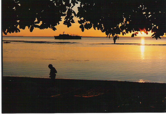Trobriand Islands off the coast of PNG 1987