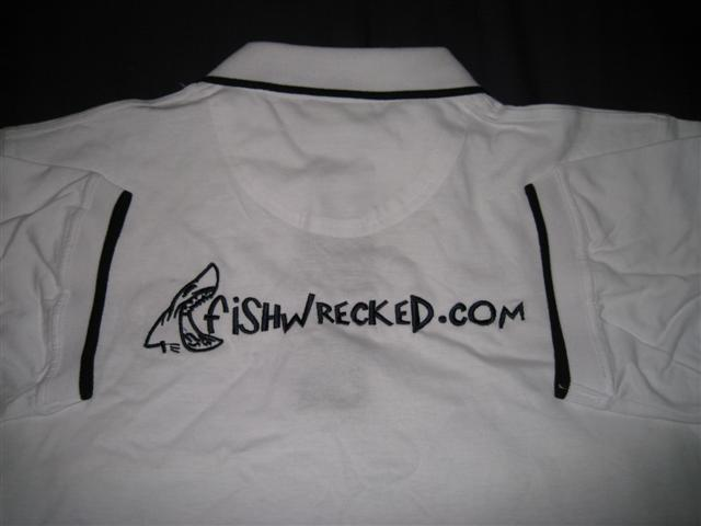 Fishwrecked Shirt - Back and Arms