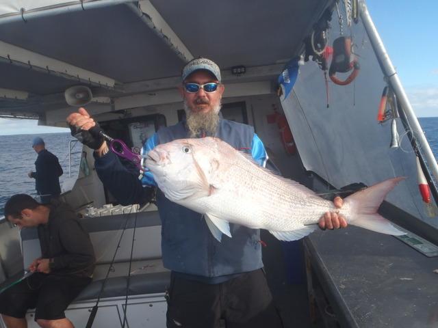whiteys 9 kg snapper on jig