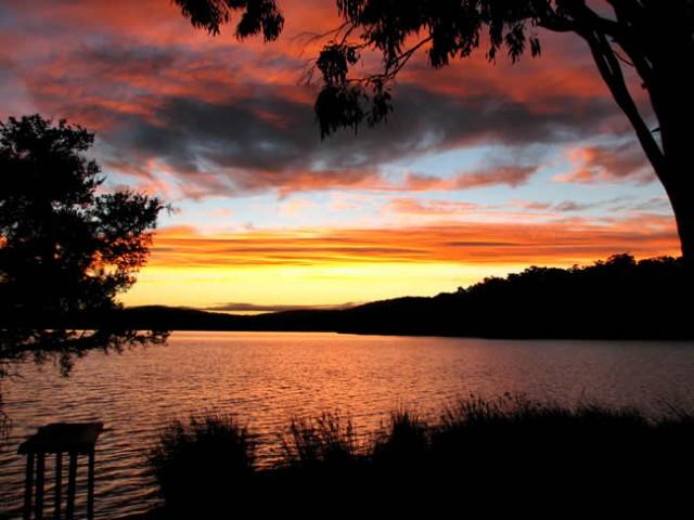 Wallpole Sunrise Fishyink