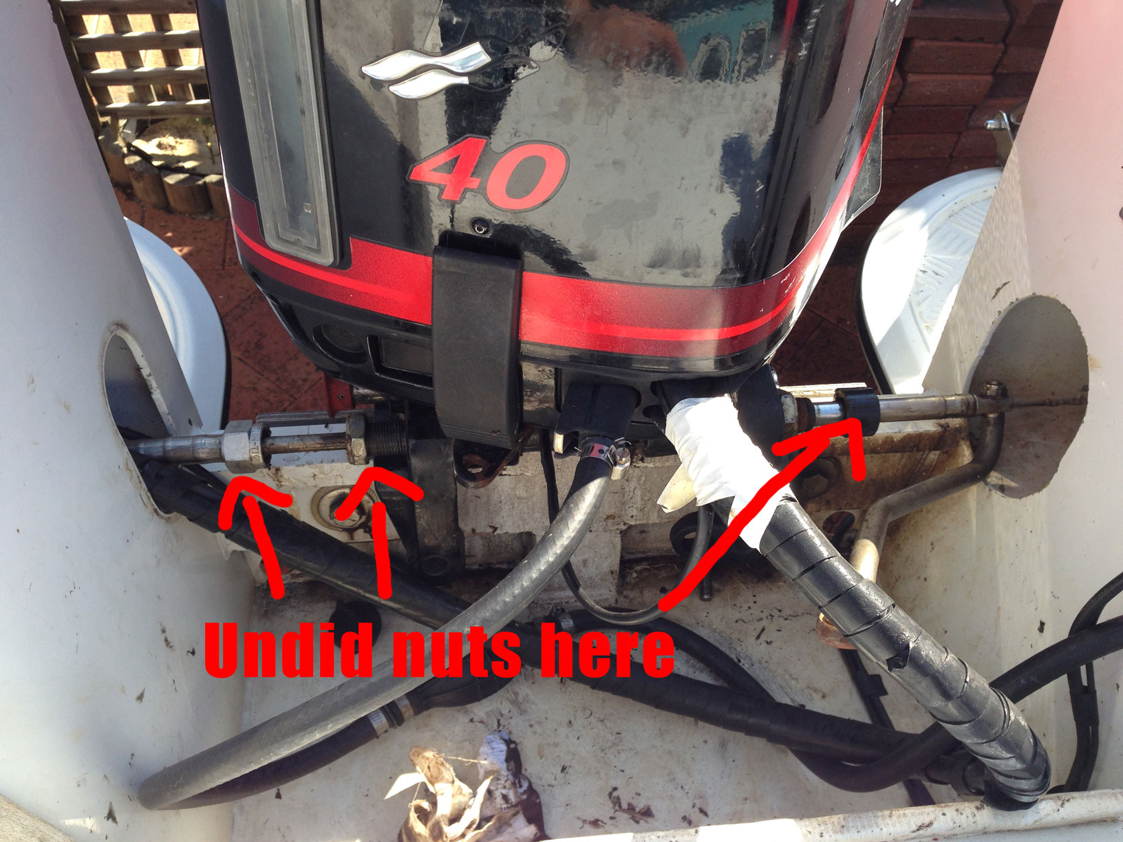 1 Outboard Motor Diagram on