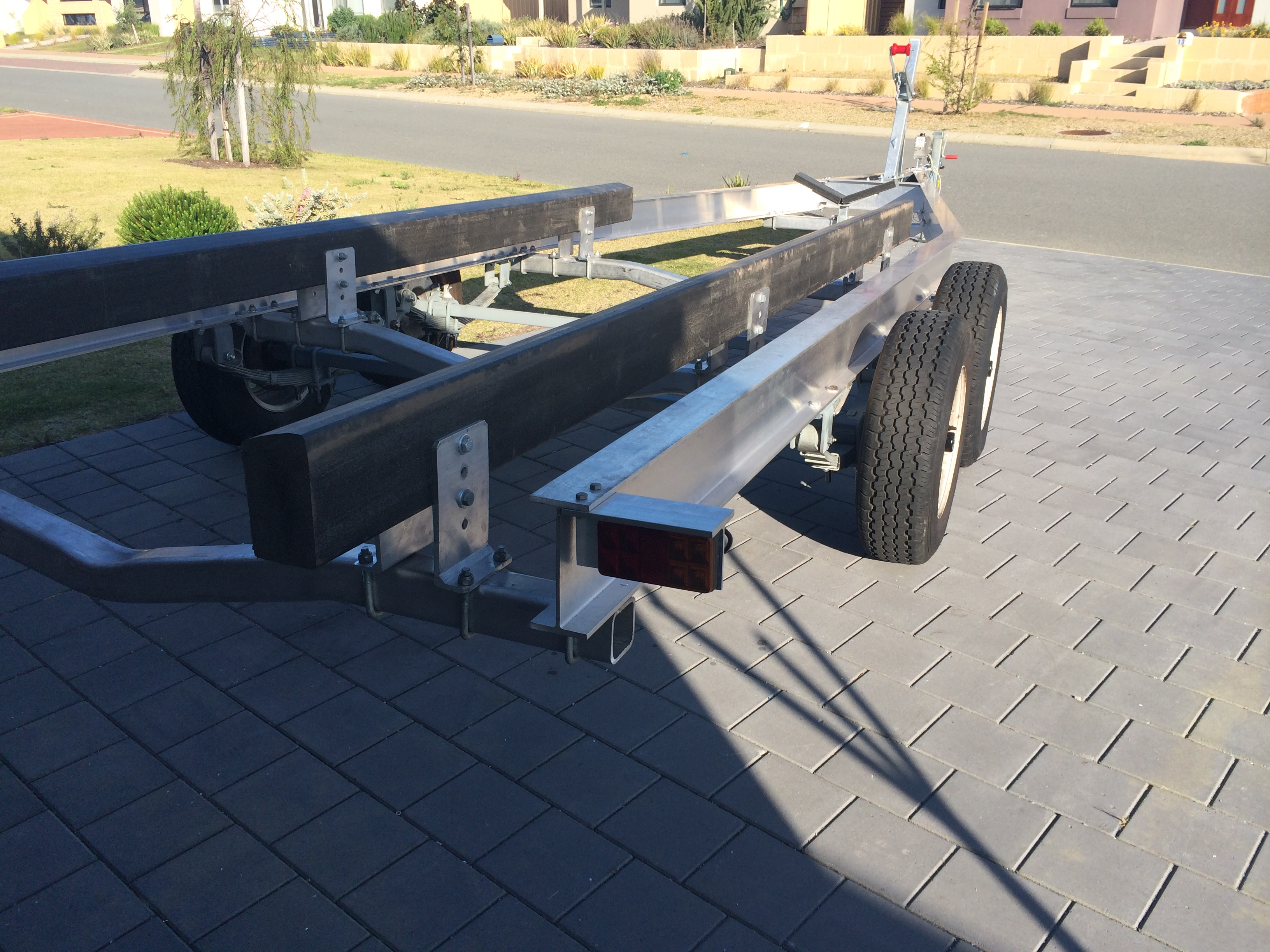 new aliminium boat trailer build | Fishing - Fishwrecked.com ...